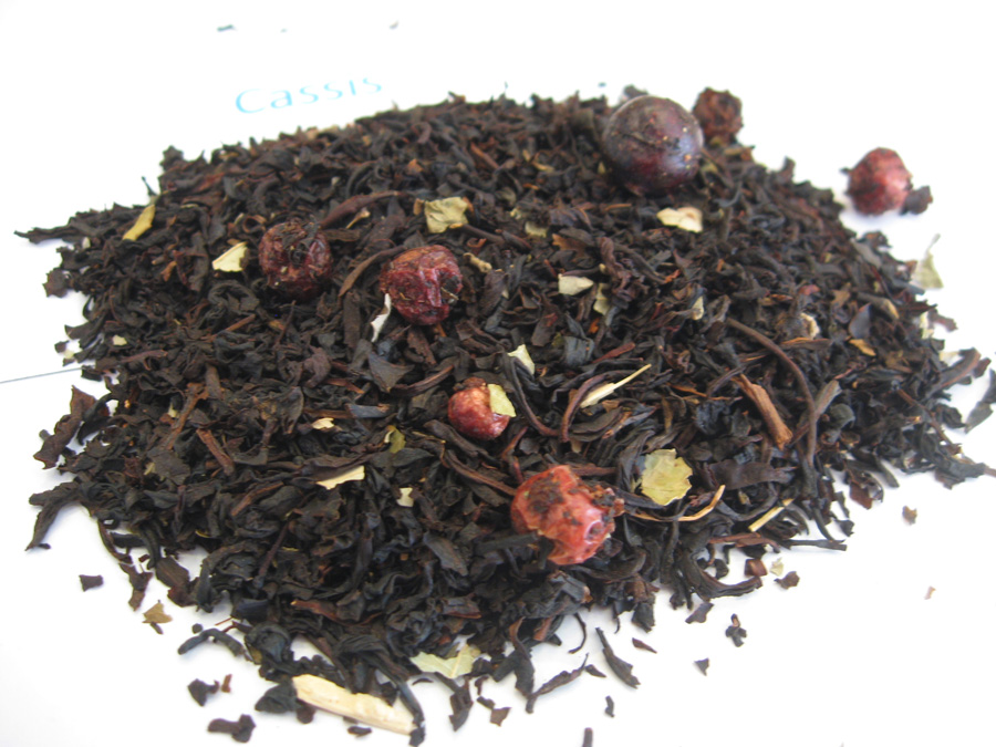 CassisBIO - Thé noir aromatisé - en aparthé