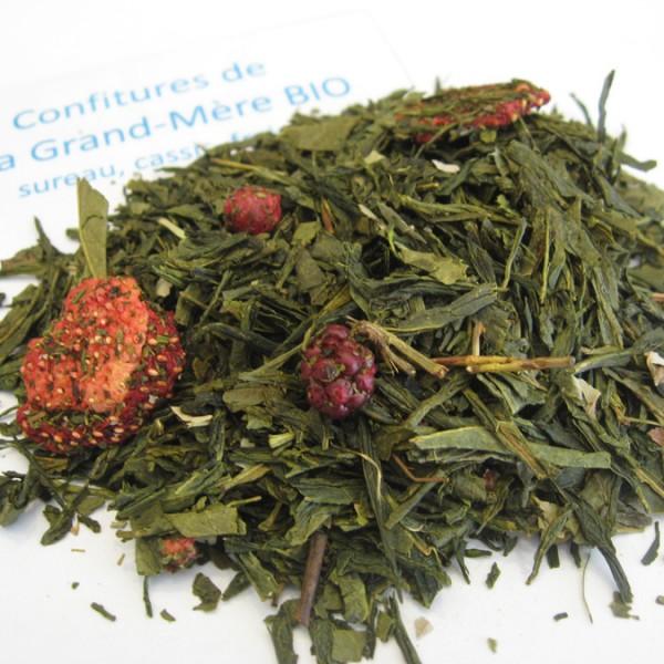 Confitures de ma grand-mère BIO - Thé vert aromatisé fruits rouges - en aparthé