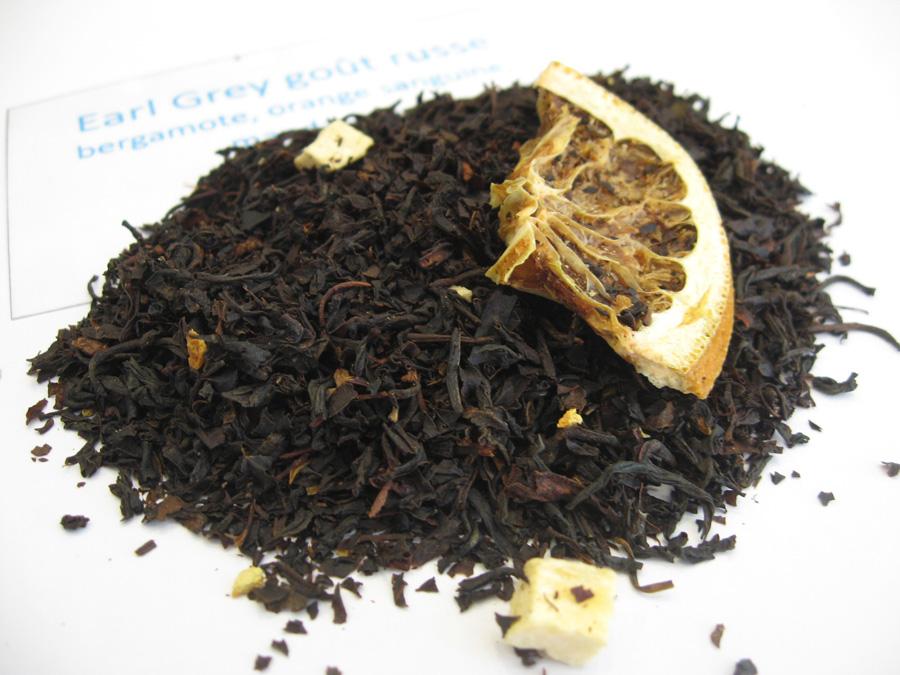 Earl Grey goût russe - Thé noir aromatisé agrumes - en aparthé