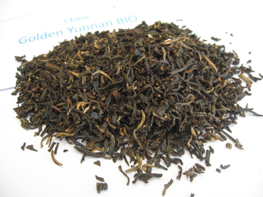 Golden Yunnan BIO - Thé noir de Chine - en aparthé
