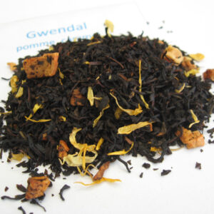 Gwendal - Thé noir aromatisé caramel/pomme - en aparthé