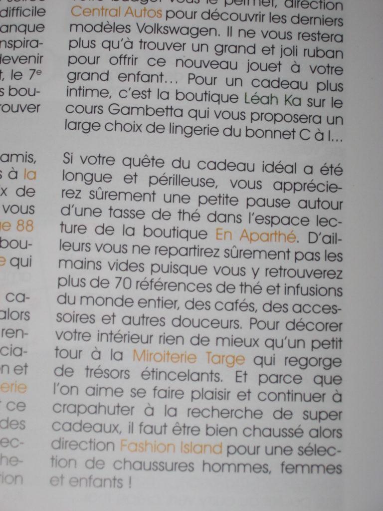 Guide des commerces du 7è - Lyon 2013 - en aparthé -