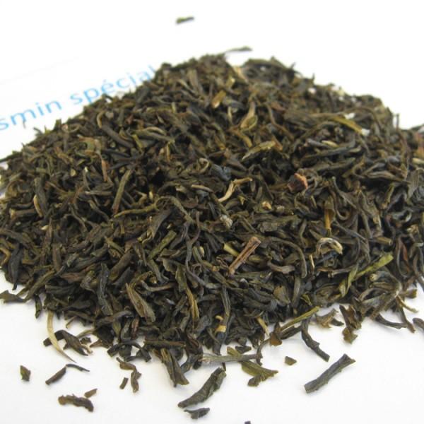 Jasmin spécial - Thé vert aromatisé - en aparthé