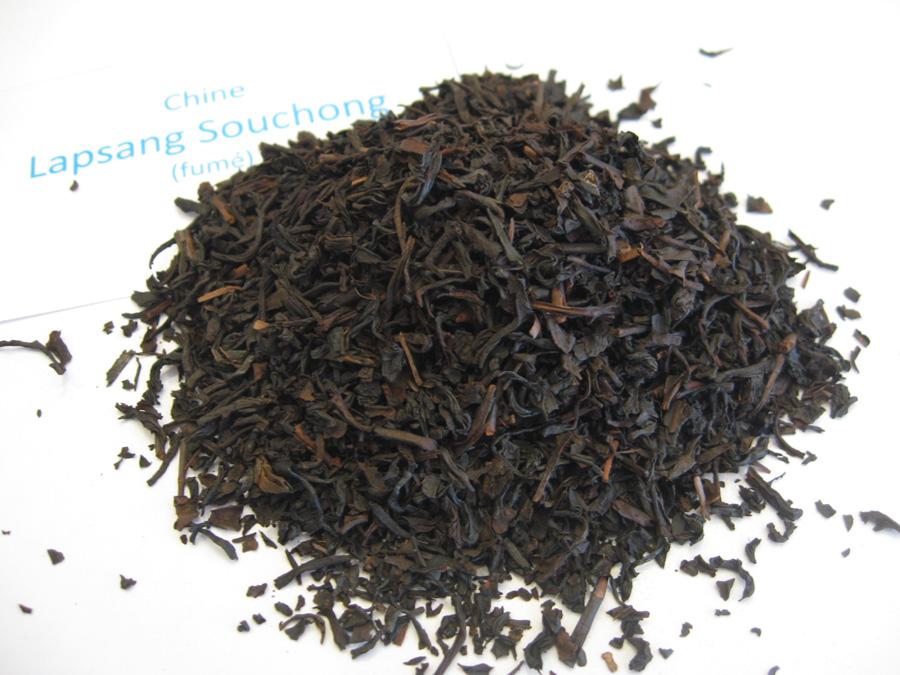 Lapsang SouchonLapsang Souchong - Thé noir fumé de Chine - en aparthég - CHINE - Thé noirs nature - en aparthé
