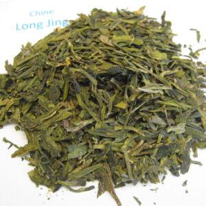 Long Jing - thé vert de Chine - en aparthé