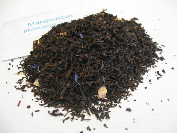 Mangoustan - Thé noir aromatisé fruits jaunes/exotique - en aparthé