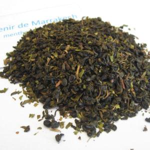 Souvenir de marrakesh - Thé vert aromatisé menthe - en aparthé