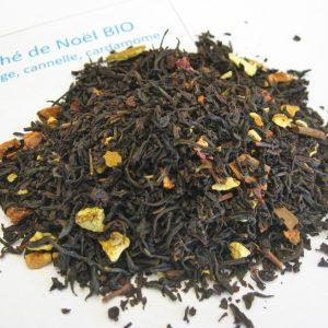 Thé de Noël BIO - Thé noir aromatisé orange/épices - en aparthé