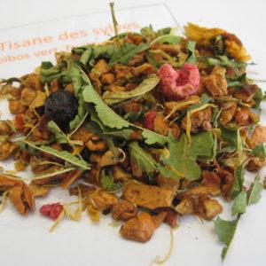 Tisane des sylves BIO - Rooibos - Infusion fruitée - en aparthé