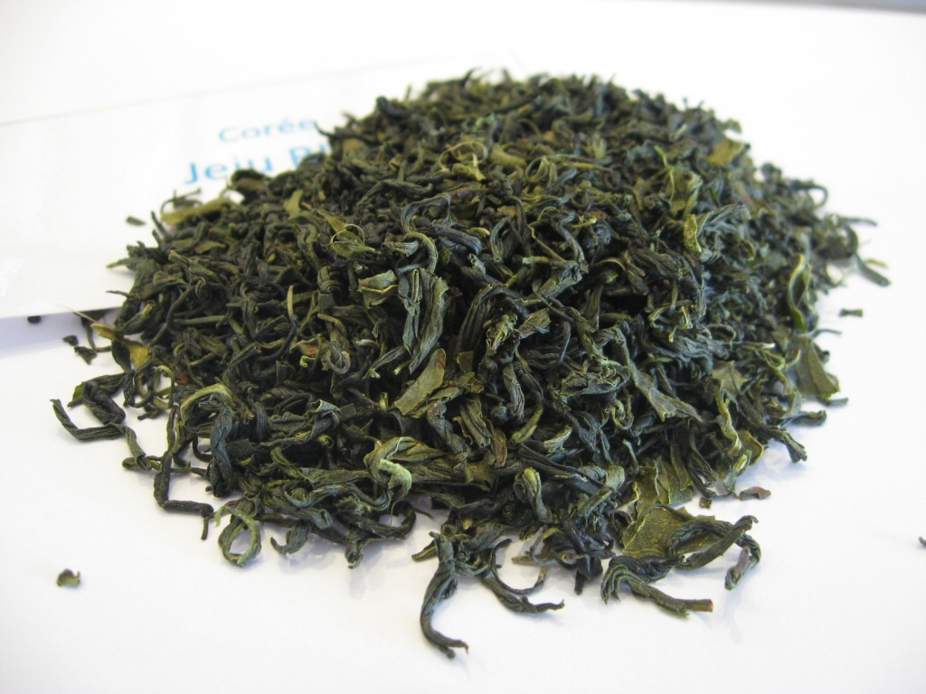 Thé vert de Corée Jéju BIO - en aparthé