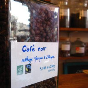 Café noir - en aparthé - Boutique en ligne
