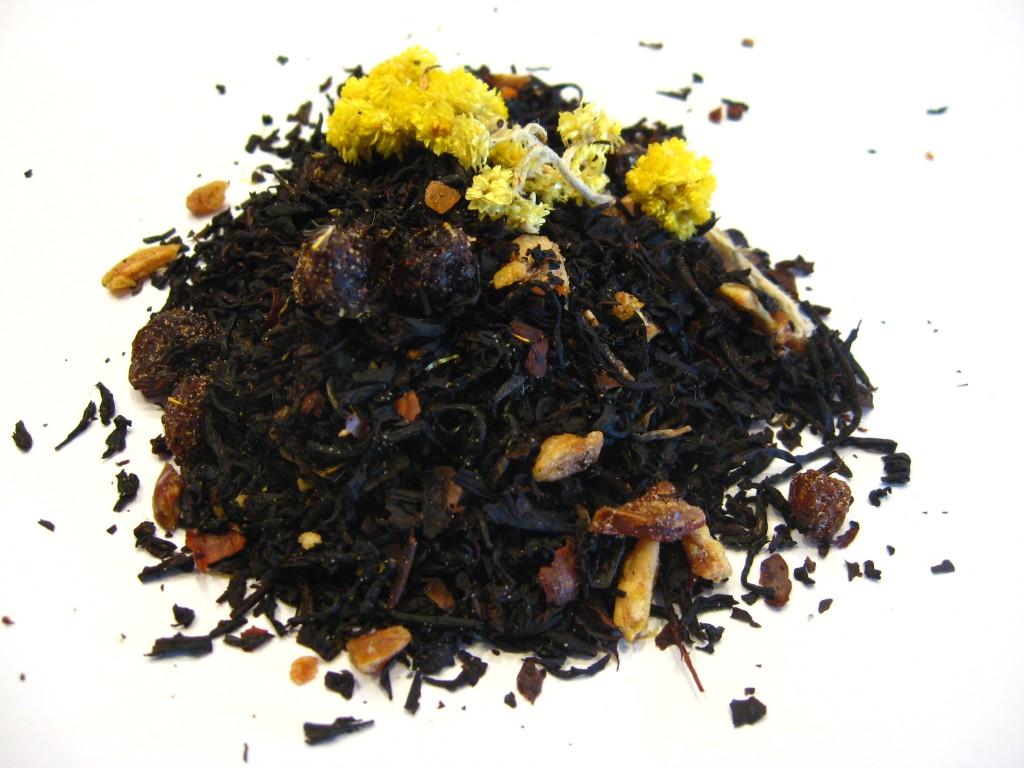 fruits d'automne BIO - thé noir aromatisé citron, datte et figue - en aparthé