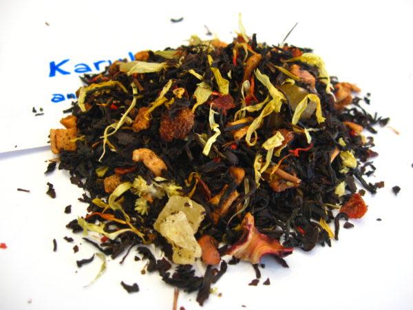 Karukera - Thé noir aromatisé ananas/piment - en aparthé