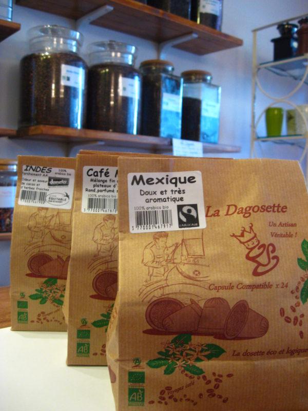 Dagosette, la capsule de café compatible - en aparthé - Boutique en ligne