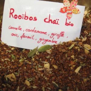 Rooïbos chaï BIO - infusion - en aparthé Lyon - Boutique en ligne