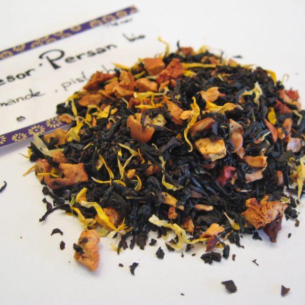 Thé noir Trésor Persan BIO, aux notes d'amande et de pistache - en aparthé - Boutique en ligne