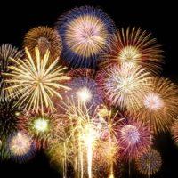 feu d'artifice 14 juillet - en aparthé