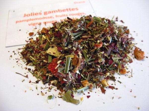 Infusion Jolies gambettes - Boutique en ligne thés, infusions, cafés - en aparthé