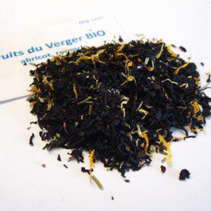 Thé noir fruits du verger bio - en aparthé - Boutique en ligne