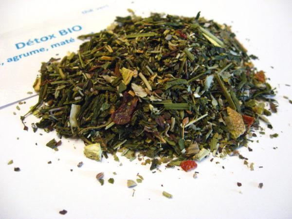 Thé vert Détox bio - en aparthé - Boutique en ligne