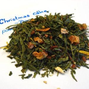 Thé vert Christmas cake BIO - en aparthé - Boutique en ligne
