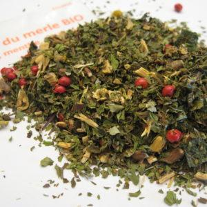 Le chant du merle BIO - en aparthé Lyon - Boutique en ligne de thés, infusions, cafés et poivres