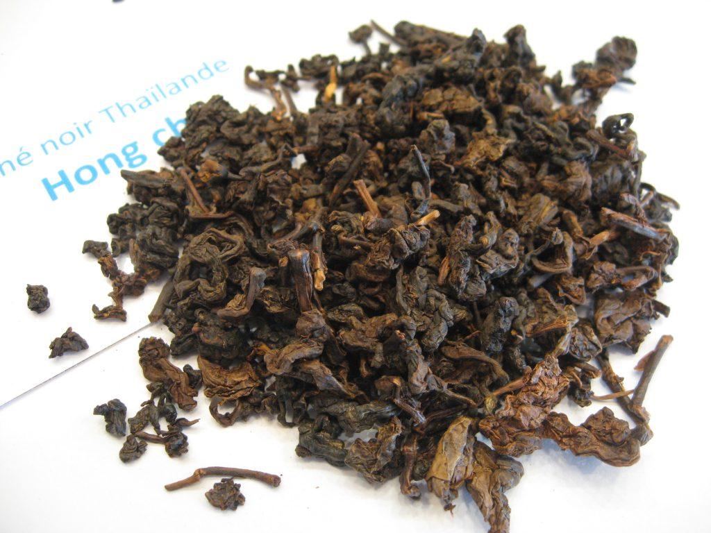 thé noir Hong cha - en aparthé Lyon - boutique en ligne