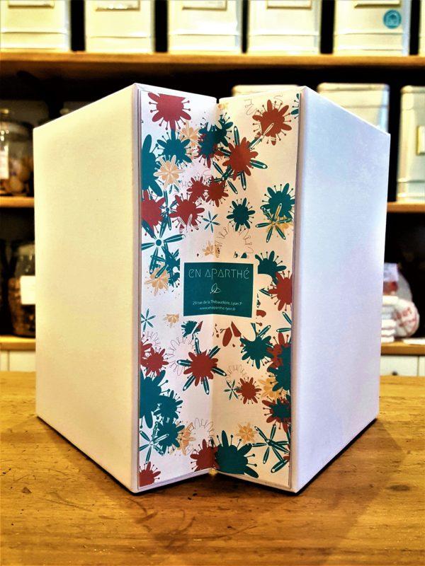 Celendrier de l'avent des thés - en aparthé Lyon - Boutique en ligne