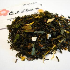 Ciel d'hiver bio - thé vert et blanc - en aparthé Lyon - Boutique en ligne