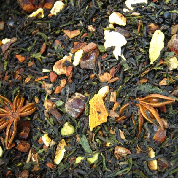 Pain d'épices BIO - thé noir, thé vert - en aparthé - Boutique en ligne