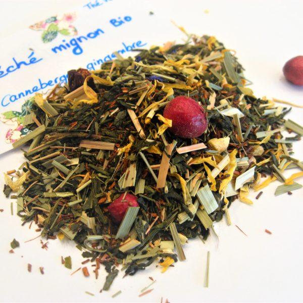 thé vert Péché mignon BIO - en aparthé - Boutique en ligne