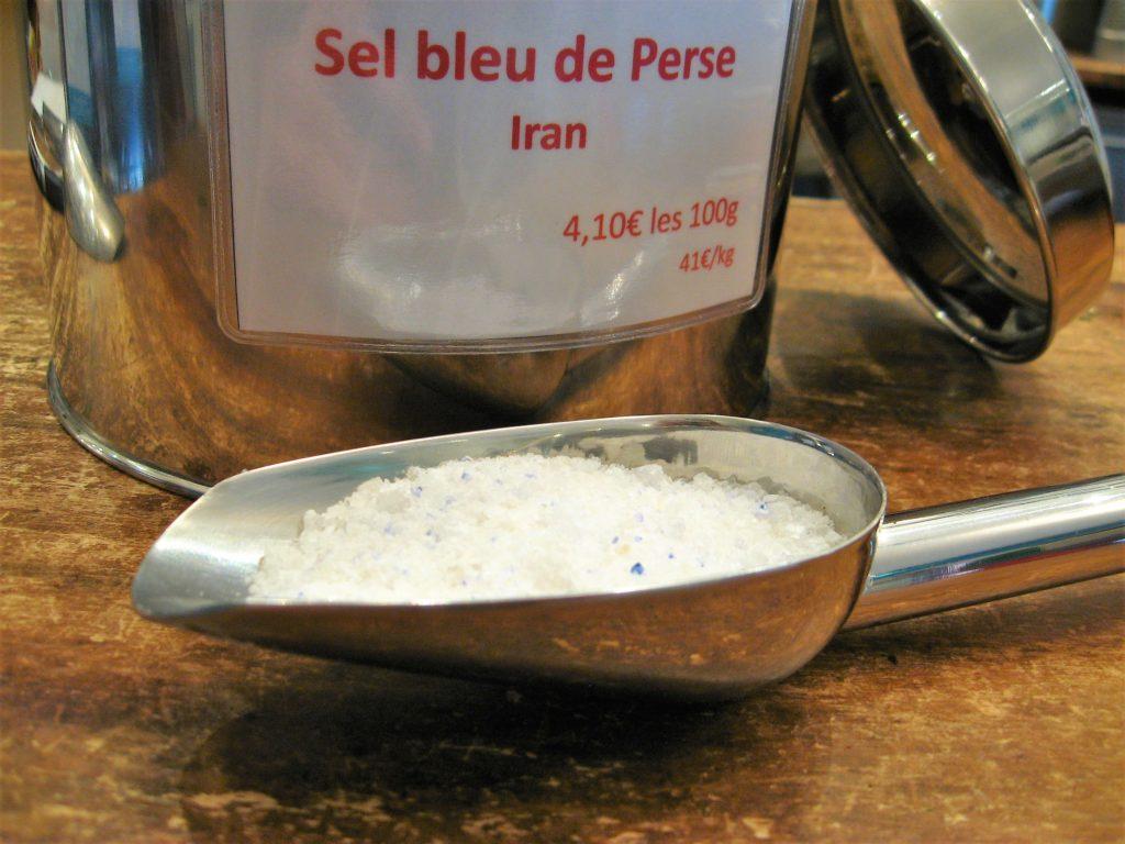 Sel bleu persan - en aparthé - Boutique en ligne