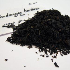Vendanges tardives BIO - thé noir - en aparthé Lyon - Boutique en ligne