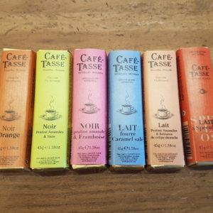 Batônnets de chocolat Café Tasse - en aparthé Lyon - Boutique en ligne