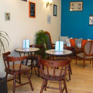 Salon Boutique de thé et café en aparthé -