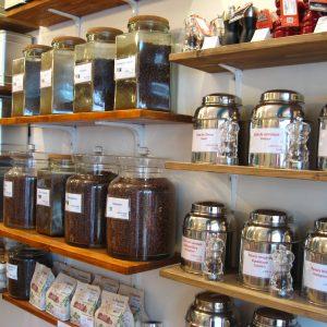 Salon Boutique de thé et café en aparthé - Poivres et baies